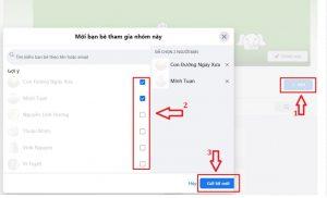 Tăng thành viên Group Facebook bằng cách mời bạn bè tham gia nhóm