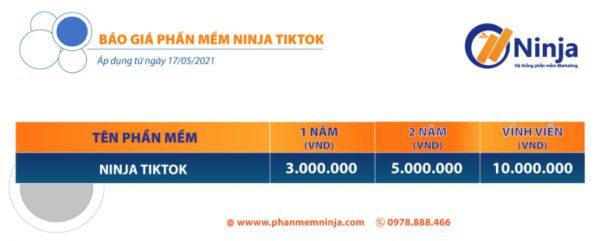 phần mềm tăng follow Ninja Tik Tok