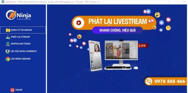 ứng dụng phát lại livestream trên facebook
