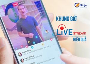 Lựa chọn khung giờ livestream nhiều người xem