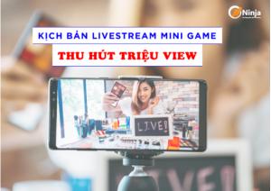 Tạo kịch bản mini game là cách tăng view livestream hiệu quả